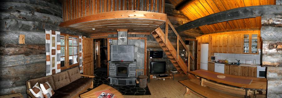 Deze blokhut in het populairste ski-resort van Finland is te huur ...